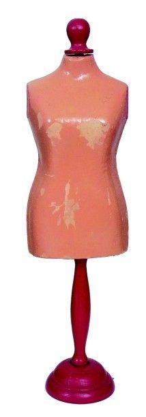 Mannequin de couturière pour poupée en carton...