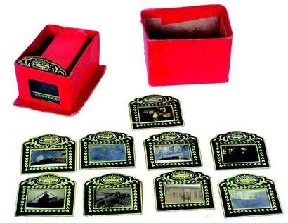 «GEDESCOPE» rare appareil de projection miniature...