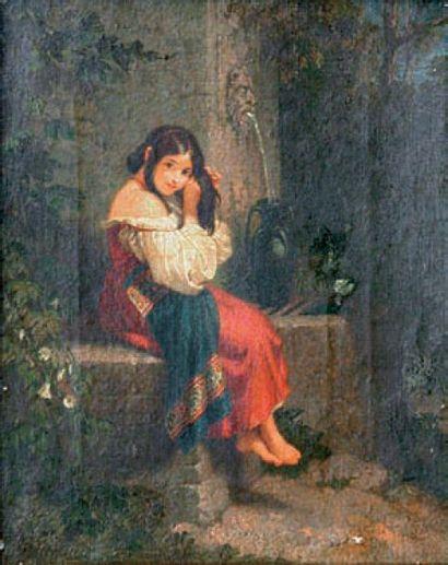 ÉCOLE FRANÇAISE ou ANGLAISE, XIXe siècle