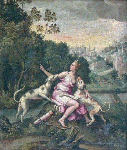 ÉCOLE FRANÇAISE, vers 1600