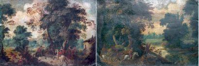 ÉCOLE FLAMANDE, XVIIe siècle