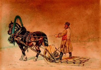 Nikolai  SVERCHKOV  (1817-1898)