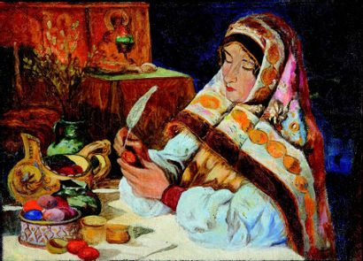Klavdy  LEBEDEV  (1852-1916)