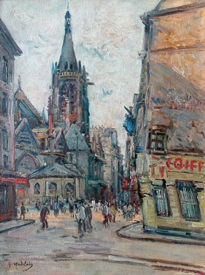 Gustave MADELAIN (1867-1944)