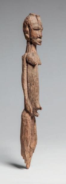 LOBI, Burkina Faso. Statuette masculine en...