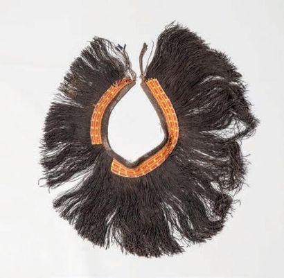 KIRDI, Cameroun. Jupe de jeune fille en fibres...
