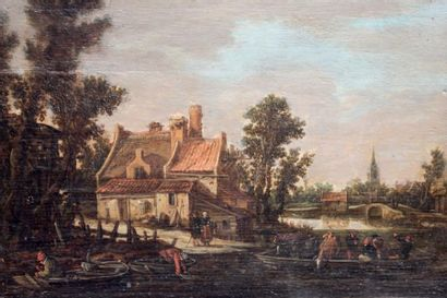 GOYEN Jan van (Leyde 1596 - La Haye 1656)