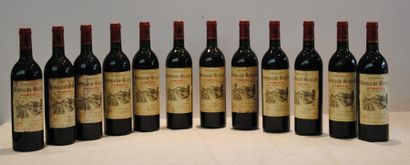 12 bout CHT GOMBAUDE GUILLOT POMEROL 1985...