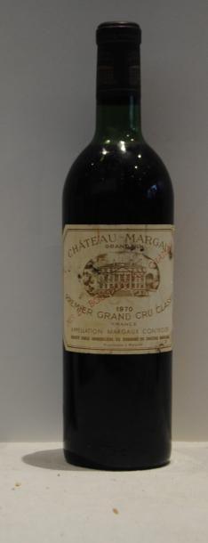 1 bout CHT MARGAUX 1970 (NLB, ETIQ LEG T...