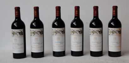 6 bout CHT MOUTON ROTHSCHILD CBO 2005