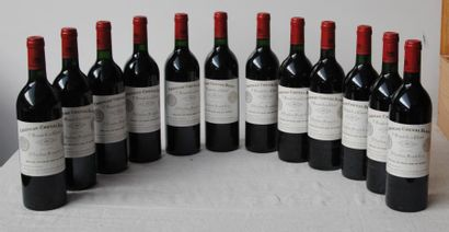 12 bout CHT CHEVAL BLANC 1985