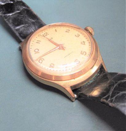 LIP Montre bracelet en plaquée or