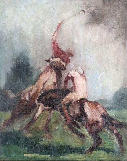 André MARE (1885-1932)  Joueurs de Polo,...