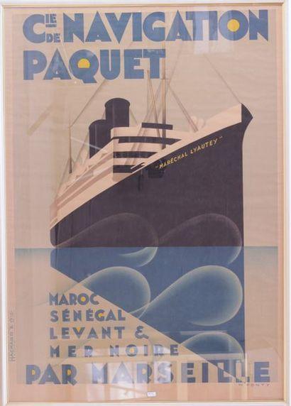 PONTY Max (1904-1972)  Affiche de la Cie...