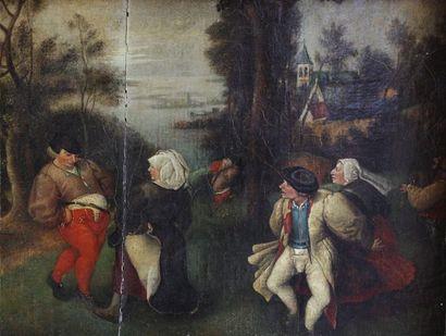 BREUGHEL Pieter le Jeune (1564-1637), d'après...