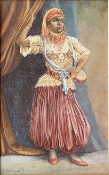 Saint Marc LEVIER (XIXe-XXe siècle) Danseuse...