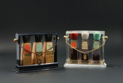 Coty - (années 1945-1950)  Deux caves à parfums...