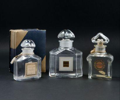 Guerlain - (années 1920-1930)  Lot comprenant...