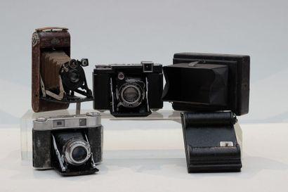 SOUFFLETS. Ensemble de quatre appareils....