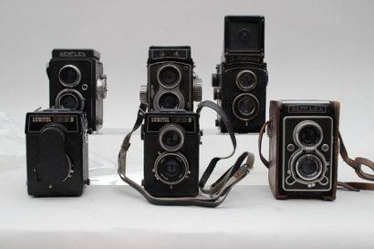 Bi-Objectifs, ensemble de six appareils....