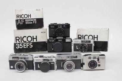 RICOH et à divers, ensemble de neuf appareils...