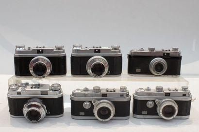 FOCA, ensemble de six appareils. Deux Foca...