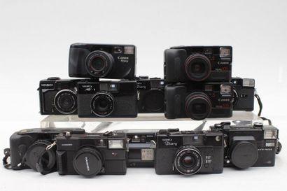 COMPACTS, ensemble de vingt appareils de...