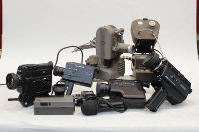 CINEMA, ensemble de projecteur, caméras,...