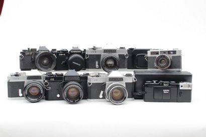 CHINON, ensemble de dix appareils. Appareil...