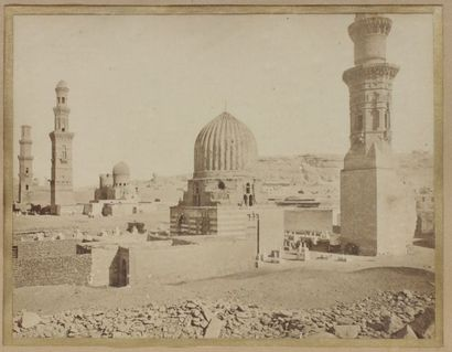 PHOTOGRAPHIE. Egypte, le Caire. Vue sur la...