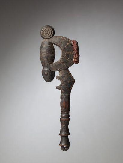 BAOULE, Côte d'Ivoire  Manche de marteau...