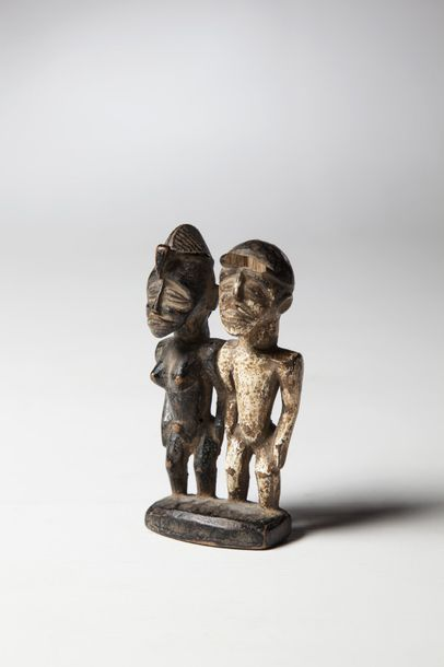 SENOUFO, Côte d'Ivoire  Couple de statuettes...