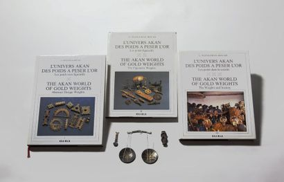 AKAN, Côte d'Ivoire/Ghana  Les trois tomes...