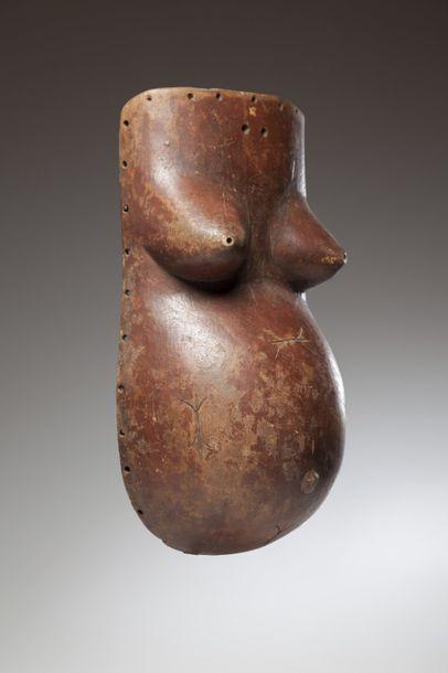 MAKONDE, Tanzanie/Mozambique  Masque ventral...