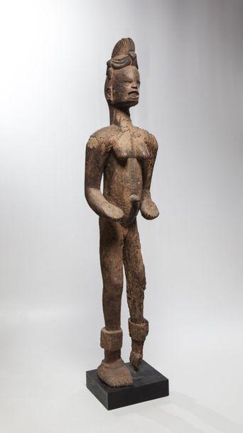 IBO, Nigéria  Importante statue féminine...