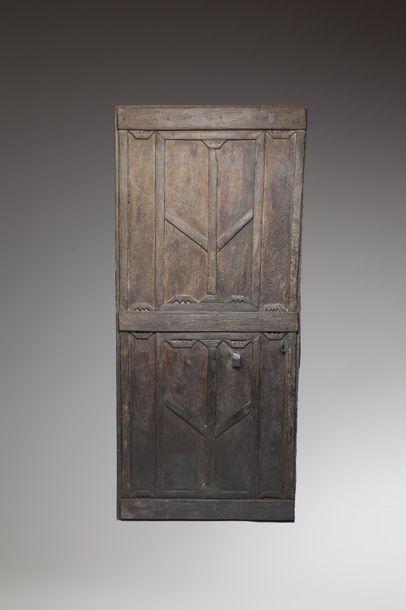TOMBOUCTOU, Mali  Ancienne porte de case...