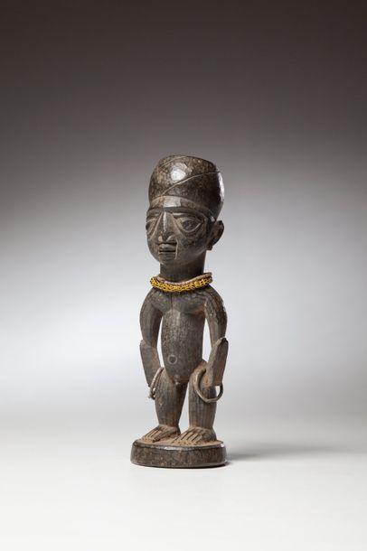 YORUBA Nigeria  Statuette de jumeau Ibedji...
