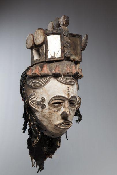 IBO/IDOMA, Nigéria  Bel exemplaire de masque...