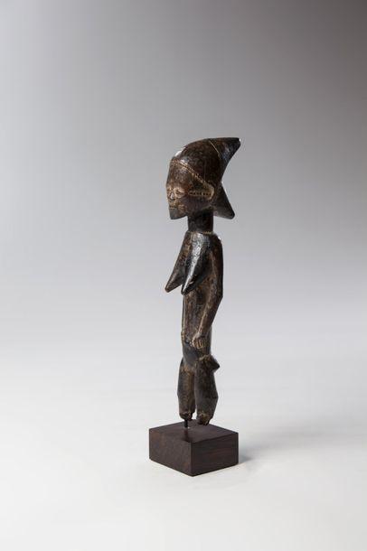 BAOULE, Côte D'ivoire  Statuette féminine...