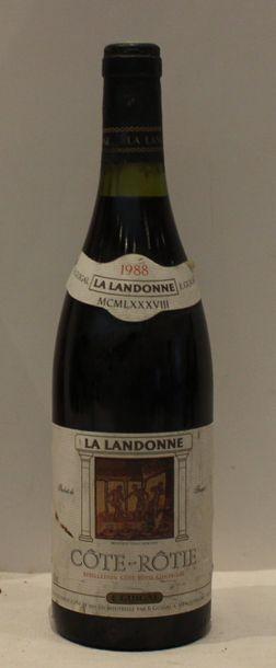 1 bout COTE ROTIE LA LANDONNE GUIGAL 1988...
