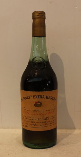1 bout FINE CHAMPAGNE MONNET EXTRA RESERVE...