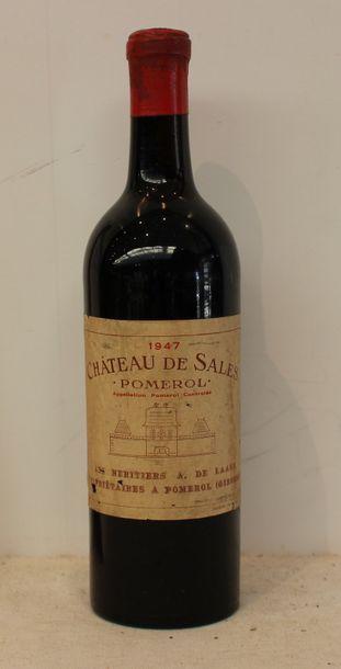 1 bout CHT DE SALES 1947 (DEB EP)