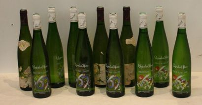 11 BOUT D'ALSACE DIVERS: PINOT BLANC, TOKAY...