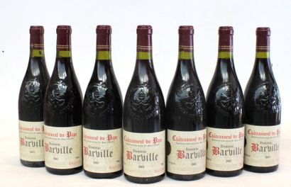 7 BOUT CDP DOMAINE BARVILLE BROTTE 2001