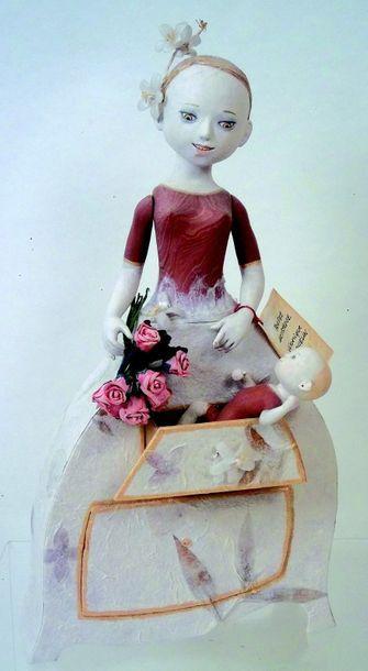 «Le cadeau de mariage» cette robe à tiroir...