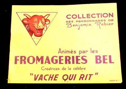 Album de collection des fromageries BEL avec...