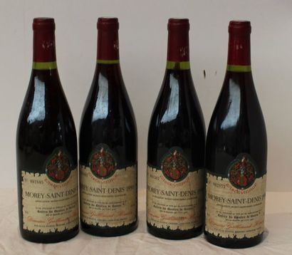 4 bout MOREY ST DENIS DOMAINE GUILLEMARD...