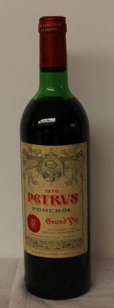 1 bout CHT PETRUS 1978 (déb ép)