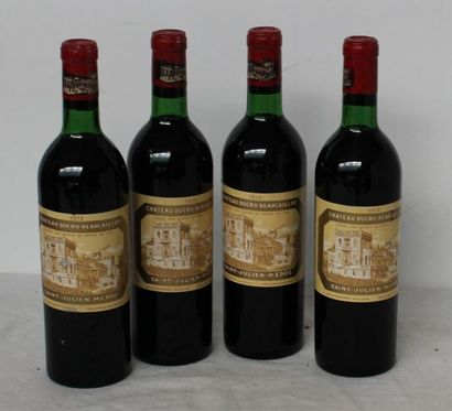 4 bout CHT DUCRU BEAUCAILLOU 1970
