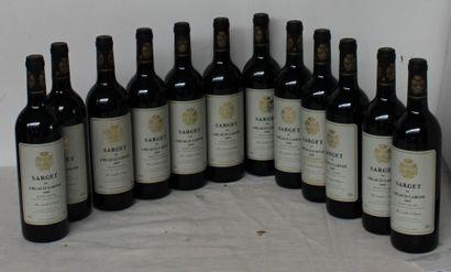 12 bout SARGET DE GRUAUD LAROSE 2000